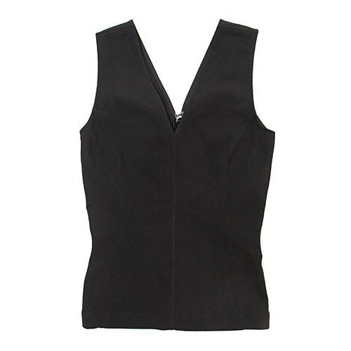 Stretchy V-Neck Sleeveless Top