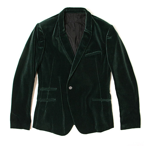 Classic Jacket in Nyssa Green