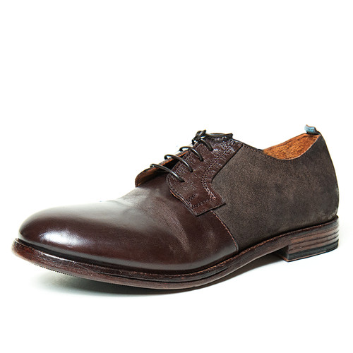 Derby Shoe with Nubuck Leather