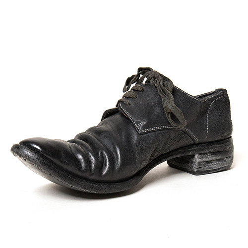 Stacked Derby Shoe