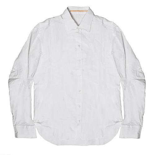 White 'Rain' Collared Shirt