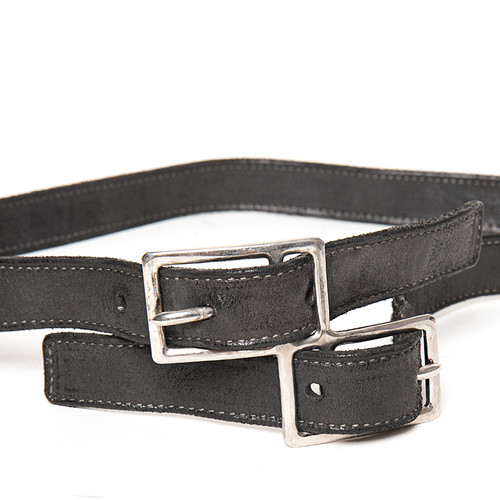 Black 'Horse' Duplex Belt