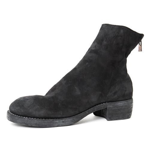 Buffalo Suede Back-Zip Boot