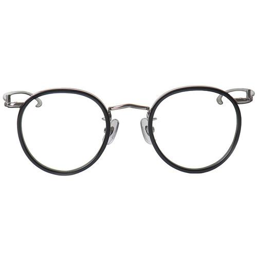Black Rim Silver Frame Glasses