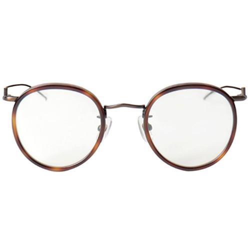 c2ce3d3be5f3 Tortoise Rim Bronze Frame Glasses