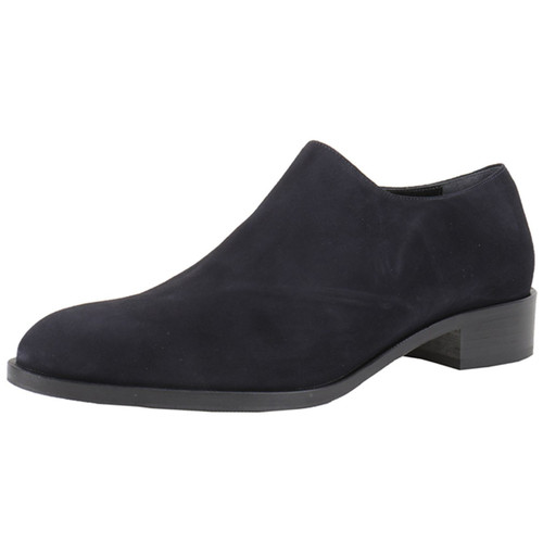 Navy Suede Slip On