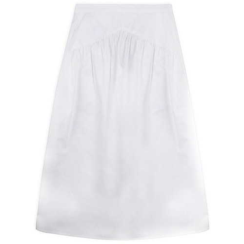 White Long Skirt