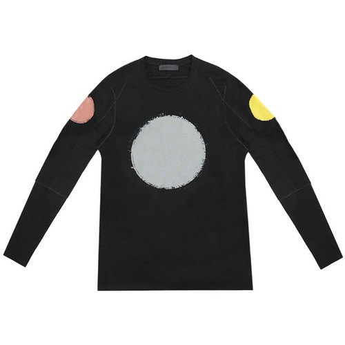 Black Dot Long Sleeve Graphic Tee