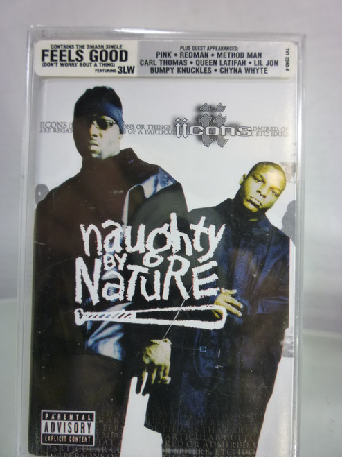 Naughty By Nature / iiCons / Cassette Tape, New Sealed