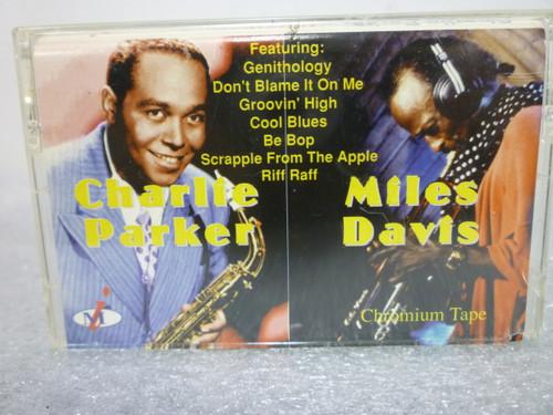 Charlie Parker- Miles Davis / Together / Cassette Tape