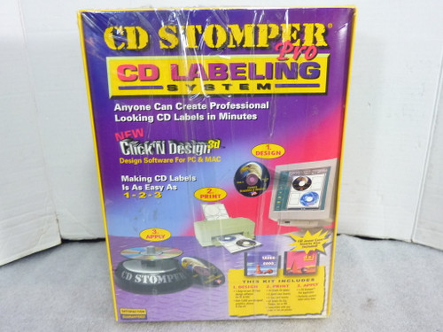 CD Stomper Pro CD Labeling System, Avery Corp