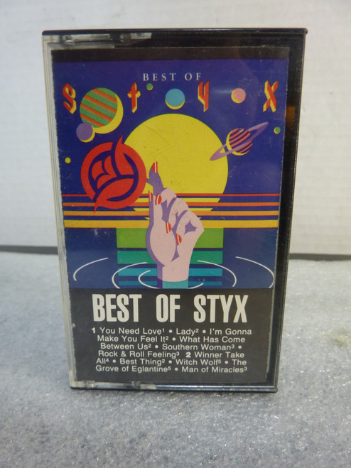 Styx * Best Of * Cassette tape