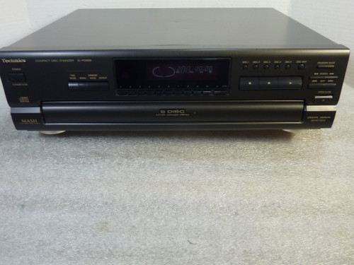 Technics SL-PD688 5 Disc CD Player Changer w/ Remote Serviced