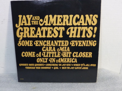 "Jay and The Americans ""Greatest Hits"" Vinyl LP Record"