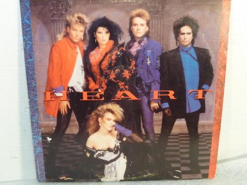 "Heart ""Self Titled"" Vinyl LP Record Album"