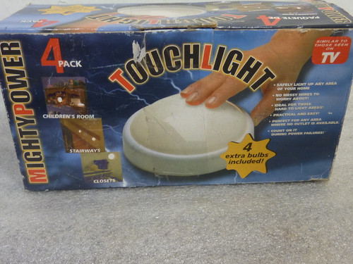 Touch Light 4 Pack New Old Stock #1605