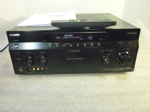 Sony STR-DA3200ES Home Theater Receiver w/ Remote