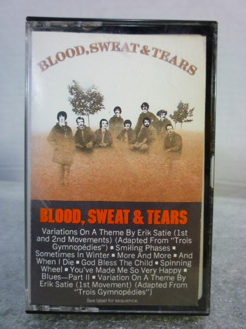 """Blood Sweat & Tears """" Self Titled"""" Cassette Tape"""