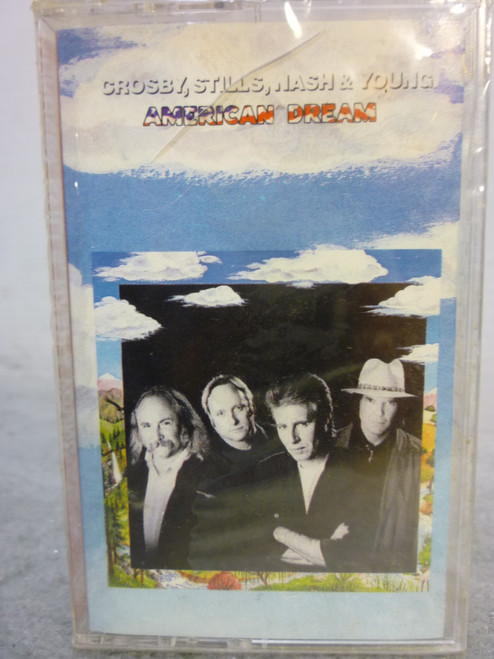 "Crosby, Stills, Nash & Young ""American Dream"" Cassette Tape New Sealed"
