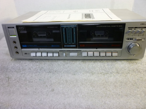 LXI Series Dual Cassette Tape Deck (Japan)
