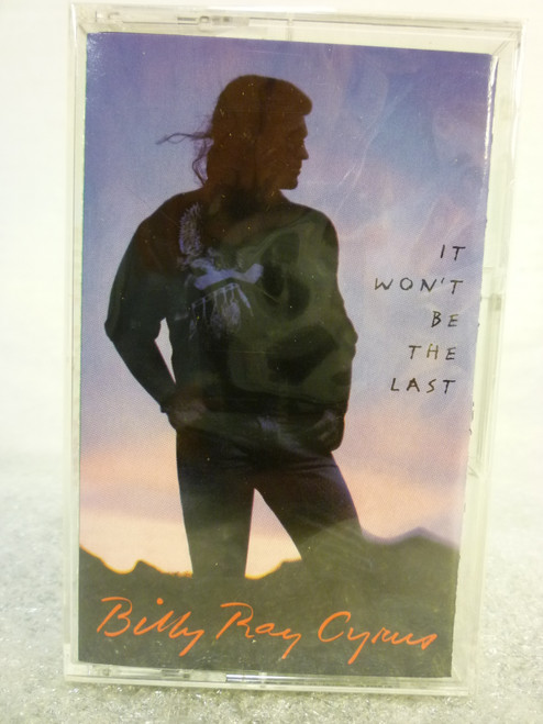 "Billy Ray Cyrus ""It Won't Be The Last"" Cassette Tape New Sealed"