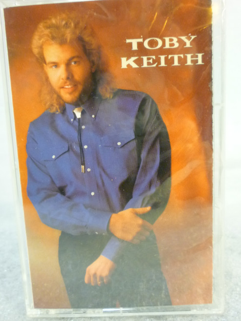 "Toby Keith 'Self Titled"" Cassette Tape New Sealed"
