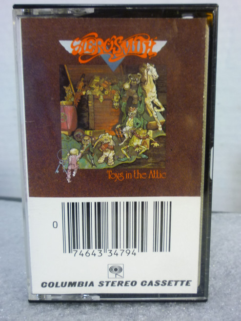 "Aerosmith ""Toys in The Attic"" Cassette Tape"