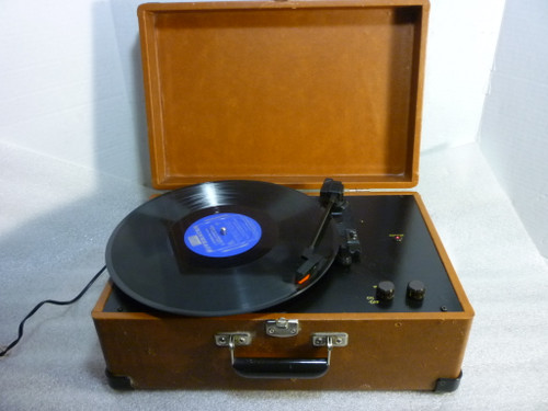 Crosley Turntable CR49-TA 3 Speed Record Player Portable