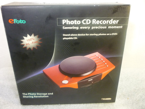 eFoto Photo CD Recorder #EF-6068 New Condition