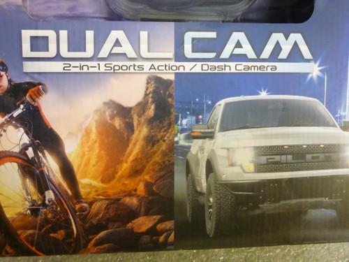 Pilot CL-3016 Dual Cam 2-in-1 Sport Cam Dash Cam