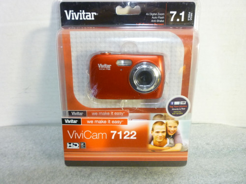 Vivitar Vivicam 7122 Digital Camera New Sealed