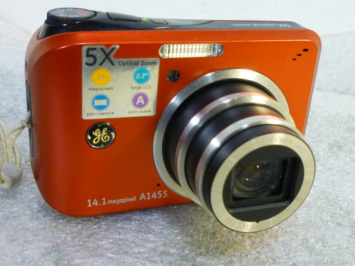 GE Digital Camera A1455, 14.1 MP Digital Imaging