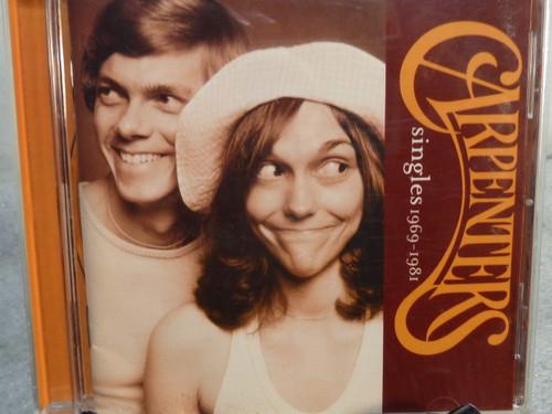"The Carpenters ""Singles 1969 - 1981"" Music CD"