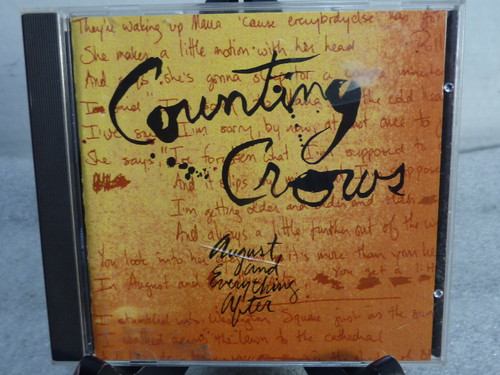 """Counting Crows """"August and Everything After"""" Music CD"""