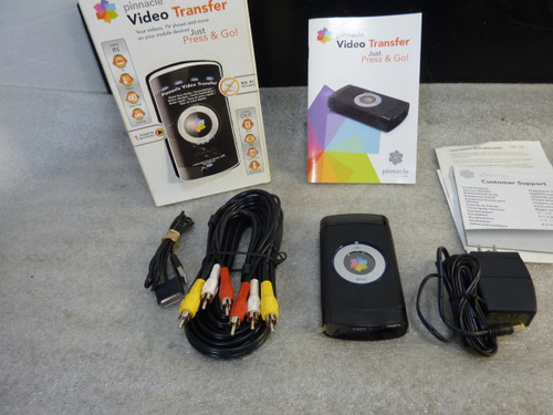 Pinnacle Video Transfer Analog to Digital No PC Required