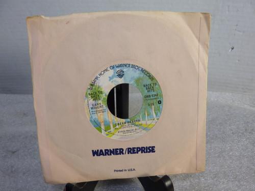 "Gary Wright - Dream Weaver - 7"" Single Record"