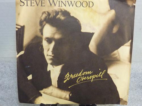 "Steve Winwood "" Freedom Overspill "" 45 RPM Record"