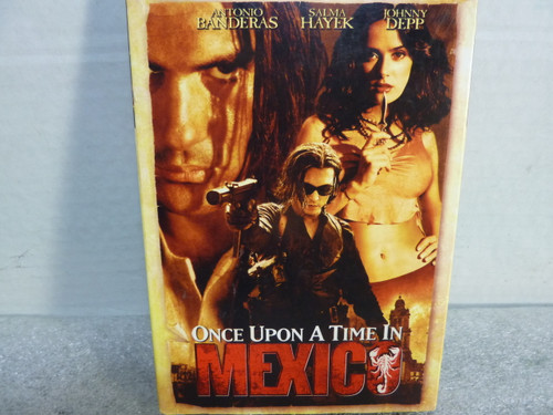 Once Upon A Time in Mexico DVD Movie Video