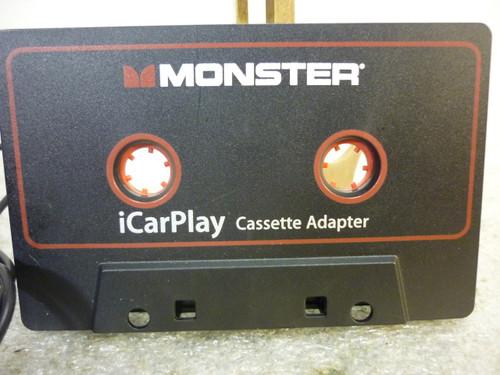 Monster iCarPlay 800 Audio Cassette Adapter New