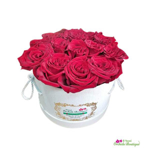 Red Roses of Love Flower Arrangement In Box