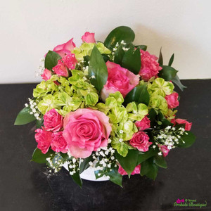 Roses of Love Flower Arrangement