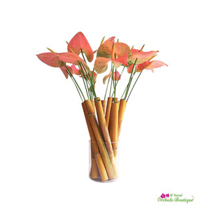 Delicate Anthurium Flower Arrangement
