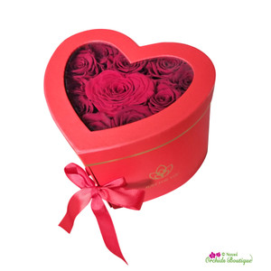 Sweetheart Red Roses Just For You Gift Box