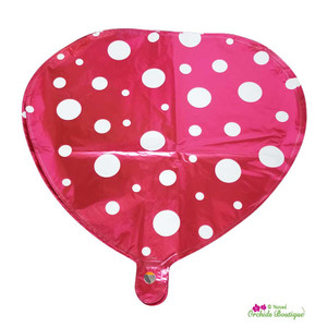 Spotted Heart Gift Balloon