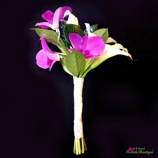 Mini Cala Lilies Prom Bouquet