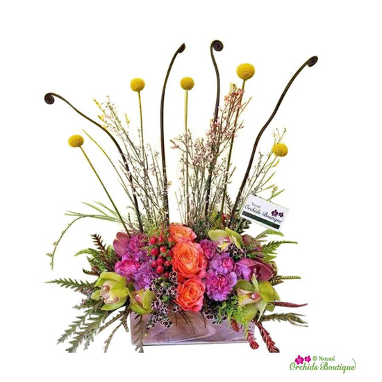 Happy Garden Flower Arrangement