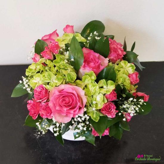 Roses of Love Flower Arrangement