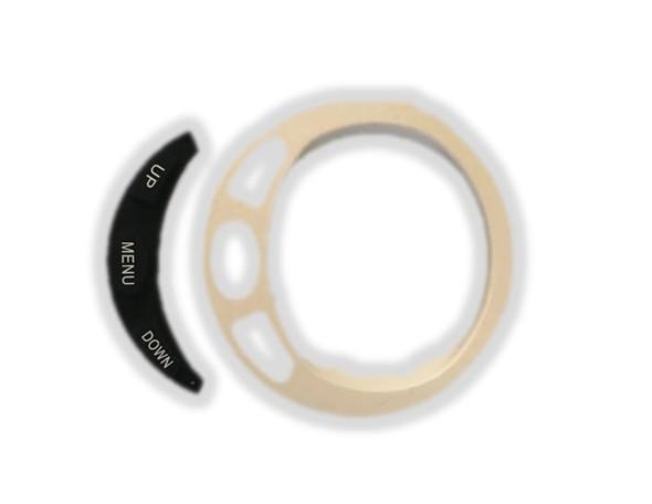 990C0-88021 Suzuki White Gauge Bezel Small Up Menu Down