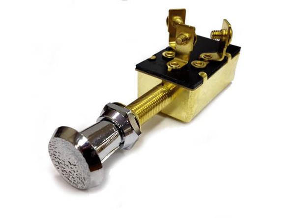 MP39570 Sierra On/Off/On SPDT Heavy Duty Push Pull Switch