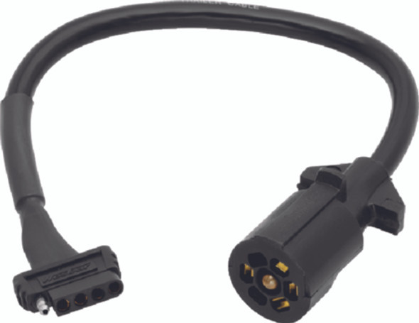707250 Wesbar 7-Way to 5-Flat Trailer Connector